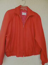 Pendleton Bright  Red Short Wool Jacket Thinsulate Insulation  L-XL