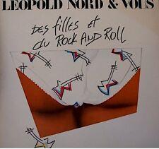++LEOPOLD NORD & VOUS des filles et du rock and roll/un jour on ira SP 1989 EX++