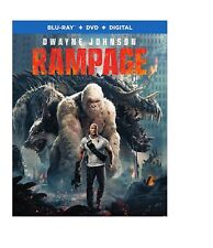 Rampage (Blu-ray Disc ONLY, 2018)