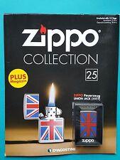 Zippo Collection Nr.25 Sturmfeuerzeug   Union Jack (1977) never fired !!!