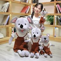 Cute Mouse Plush Toys Bed Pillow Stuffed Animals Dolls Soft Toy Lovely Doll Gift