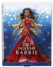 2017 Holiday Christmas Doll IN STOCK  Barbie Doll-- DYX40--(African American)