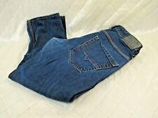Diesel Jeans Turbo Krooley 36 x 32 Dark Blue 008QM Wash Regular Slim Carrot