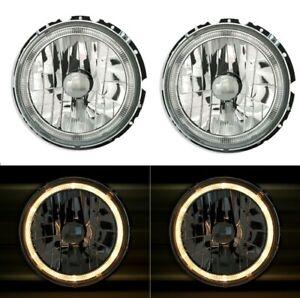DEPO Angel Eyes Scheinwerfer Set für VW GOLF 1 + Cabrio KÄFER LT T2 + Mercedes