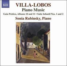 Villa-Lobos: Piano Music, Vol. 8, New Music