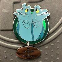 Disney WDW Fairy Tails Villain Pets Flotsam & Jetsam Ariel Pin LE 250