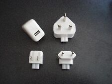 GENUINE APPLE A1357 PLUG WITH 3 HEADS (ADAPTER) - WHITE 10W 2A