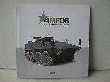MÄRKLIN Katalog 4MFOR 2008 Militärmodelle Bundeswehr, US Army, Military.. NEU
