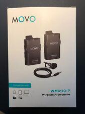 Movo WMIC10 2.4GHz drahtlos Lavalier Mikrofon System für DSLR Kameras, iPhone