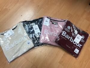 Barbour Ladies Mill Crew Sweater Multiple Colours BNWT