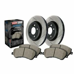 Stop Tech 937.33038 Street Axle Pack; Slotted; Brake Kit NEW