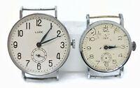 Orologio Luce e idy military watch ww2 stile calatrava rare montre war clock