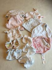Baby Girls Clothes Bundle Newborn/ 0-3 Months- Accessories