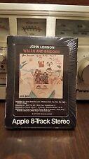 "JOHN LENNON "" WALLS AND BRIDGES"" FACTORY SEALED 8 track"
