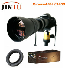 JINTU 420-800MM Telephoto Lens for Canon Rebel T6i T6 T4i T3i T3 T2i T2 XT XTi