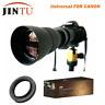 JINTU 420-800MM Telephoto Lens for Canon Rebel T6i T6 T4i T3i T3 T2i T2 XT XTi