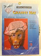 Granny Hat Reenactment Costume Halloween NEW Travelers Diamond Line New