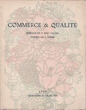 P. Mac Orlan - R. Hesse - Commerce et qualité - Lyon - 1949
