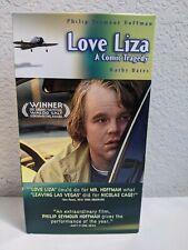 LOVE LIZA a Comic Tragedy - VHS Tape Movie - Philip Seymour Hoffman Kathy Bates