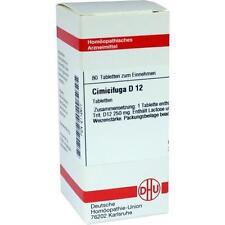 CIMICIFUGA D 12 Tabletten 80St PZN: 2112677
