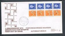 FDC met postzegelboekje PB 16, Philato, blanco/open