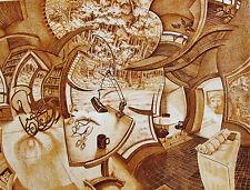 FERNANDO CASAS - ILLUMINATION I  LISTED ARTIST ORIGINAL ETCHING S&N - NO RESERVE