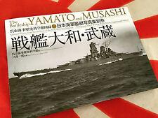 IJN BATTLESHIP YAMATO & MUSASHI Diamond Sha Kure Maritime Museum HC Book NEW!