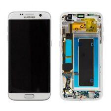 SAMSUNG Display LCD Originale + Touch Screen Per Galaxy S7 Edge SM-G935F bianco