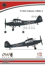 OWL 1/72 FIESELER fi-156c 'Storch' nachtschlacht #s7219