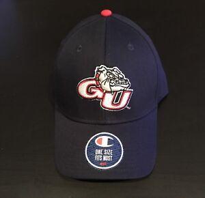 Gonzaga Bulldogs Zags Champion Adjustable Hat NWT OSFM Authentic