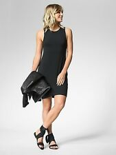 Athleta La Palma UPF 50 Dress in Black NWT $89 S