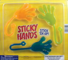 "12 BIG EXTRA HUGE STICKY HANDS 12"", CARNIVALS, PINATA PARTY FAVORS GOODY BAGS"