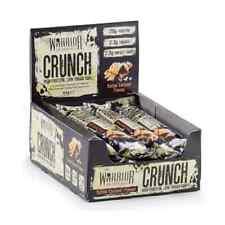 Warrior Crunch Bar Protein Bar (Low Carbs and Sugar) 12x64g FREE SHIPPING .