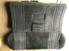 1980 Rover 3500 or SD1 Back Seat Upholstered in Black Cloth $150 Plus Shipping