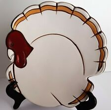 Pottery Barn Replacement GOBBLE Turkey Plate Salad Dessert Plates Thanksgiving