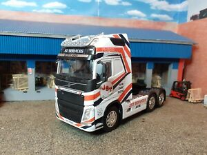 1:32 Scale Inkjet Waterslide Decals, JST SERVICES, Volvo FH4, Code 3