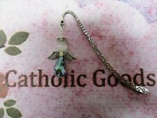 Metal Shepard Hook Bookmark With Angel Charm
