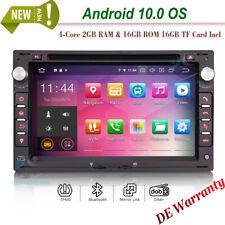 "7"" Doppel Din DVD GPS Sat Nav Android 10.0 Autoradio DAB für VW GOLF Ⅳ MK4 JETTA"