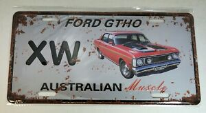 Tin sign, novelty decoration number plate, Brand New