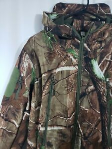 Men's Hunting Outerwear Hooded Water Resistant Softshell Tactical Jacket