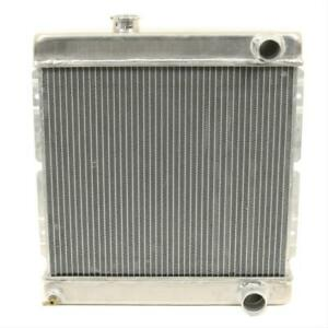 Summit Racing 380485 Radiator Direct Fit Aluminum Natural Ford Mustang Each