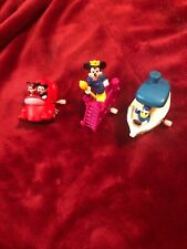 1993 Vintage Burger King Disney Wind Up Toys Classic Characters