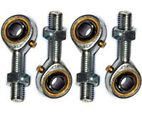 8mm Male Bronze Kart Track Rod Ends Set of 4 (2 x Left Hand & 2 x Right Hand)