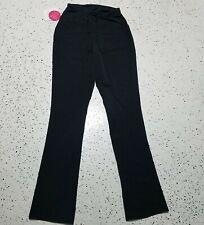 Isabel Maternity NWT Women's Dress Pants ~ Sz 2 ~ Black ~ Crossover Panel