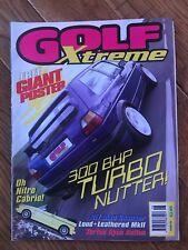Golf Xtreme Magazine June 1998 Classic VW Mk1 Mk2 Mk3 Mk4 Golf Corrado Jetta