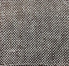 100% BELGIAN LINEN CROSS WEAVE DRAPERY /  UPHOLSTERY FABRIC CHARCOAL BY THE YARD