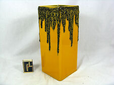 "Cool 70´s  WGP design FOHR Keramik "" Fat Lava  "" pottery vase 341 - 25     09402"