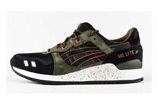 ASICS Gel-Lyte III Men's Trail Running Shoes (Size 7.5) H5T3N-9090 Black/Green