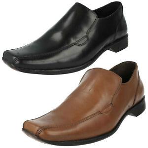 SALE Mens Maverick Leather Slip On Shoe A1R110