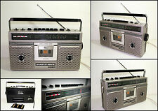 SHARP GF-5050E 3 Band Radio Cassette Boombox